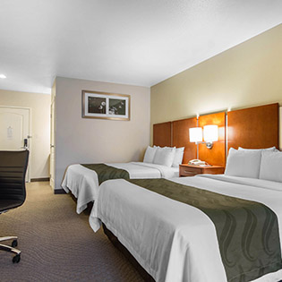 Quality Inn Silicon Valley-San Jose CA hotel room