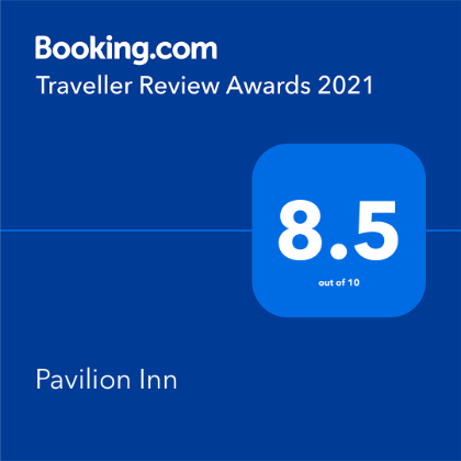 Booking.com Traveler Review Awards 2021 - 8.5 out of 10